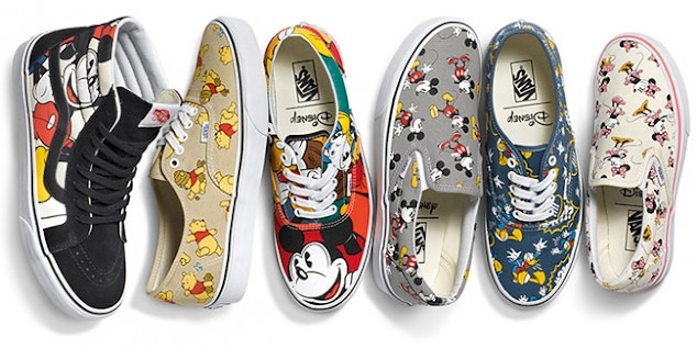 vans damen slip on disney